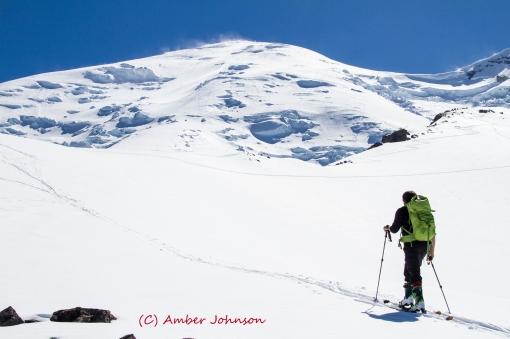 Andres summit mt rainier