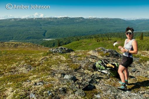 kasey alaska range view
